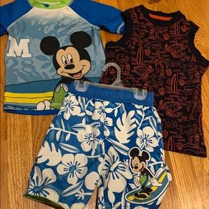 Mickey suit and tank